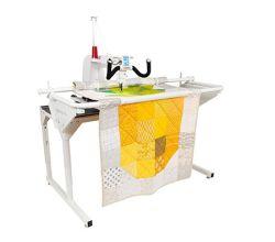Quiltovací stroj s dlhým ramenom Janome Quilt Maker Pro 16
