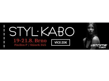Zveme Vás na veletrh Styl-Kabo 19-21.8. 2017