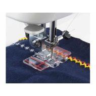 Bordurovací patka s pravítkem pro šicí stroje