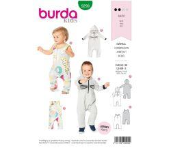 Strih Burda 9299 - Detské Bodýčko