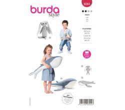 Strih Burda 6044 - Králiček, veľryba, hračky, dekorácie pre deti