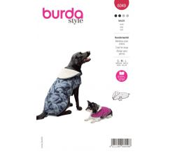 Strih Burda 6049 - Oblečenie pre psíkov