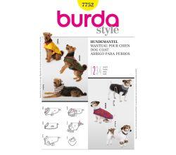 Střih Burda 7752 - Oblečky pro psy