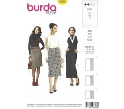 Střih Burda 8765 - Sukně