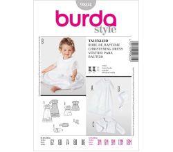 Střih Burda 9804 - Šatičky, bolerko a klobouček