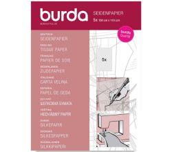 Hodvábny papier Burda, strihový papier