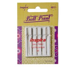 Ihly Inspira Pfaff, Husqvarna 620106096 ball point - 80 - 5 ks