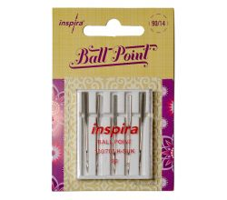 Ihly Inspira Pfaff, Husqvarna 620106196 ball point - 90 - 5 ks