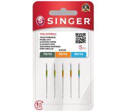 Ihly Singer 2045 - 70/10, 80/12, 90/14 - 5 ks - Stretch