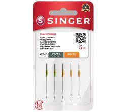 Ihly Singer 2045 - 70/10, 80/12 - 5 ks - Stretch