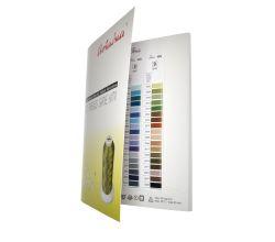 Vyšívacia niť polyesterová IRIS - barevnica