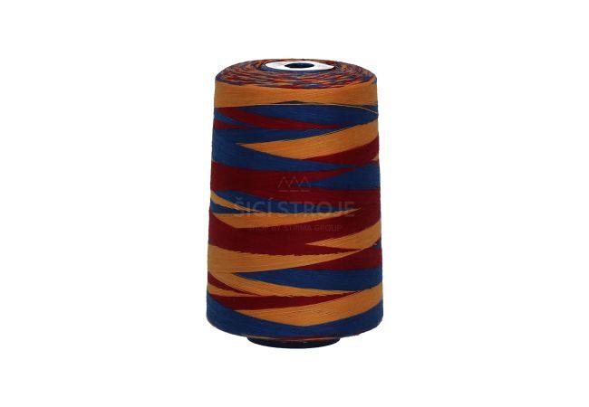 Polyesterová niť žíhaná Viga 80 multicolor - 9045