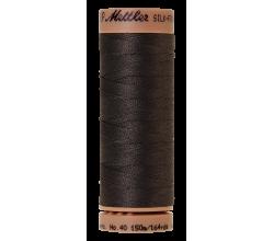 Silk-Finish Cotton 40 - Charcoal