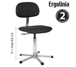 Priemyselná stolička ERGOLINIA EVO2 PROFI