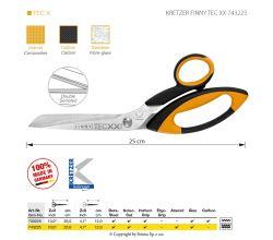 Nožnice Kretzer Finn TEC XX 743225