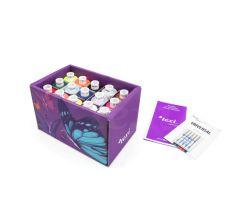 Krabička 15 farieb nití a ihly TEXI BOX 15