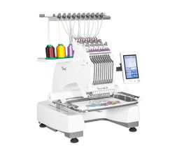 Vyšívací stroj TEXI IRIS 10 + čepicový rámeček