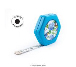Krajčírsky meter HEXAGON MAGNETIC BLUE