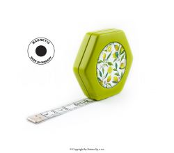 Krajčírsky meter HEXAGON MAGNETIC GREEN