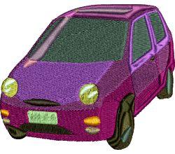 Výšivka auto 20