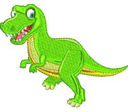 Výšivka dinosaurus 4
