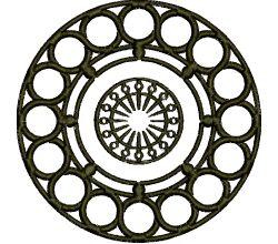 Výšivka ornament 126