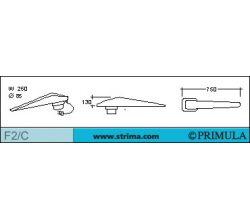 Rukávník na žehliaci stol PRIMULA F2/C