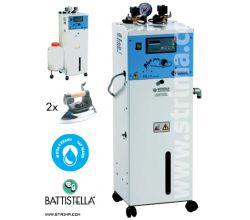 Automatický parný vyvíjač BATTISTELLA PLUTONE + 2 žehličky
