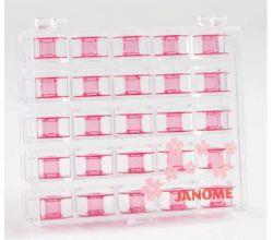 Plastové cievky farebné 200277062 JANOME