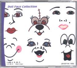Sada výšiviek Janome Doll Face Collection