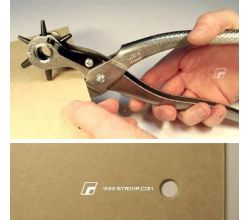 Revolverové kliešte pre dierovanie nielen kože