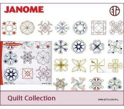 Sada výšiviek Janome Quilt Collection