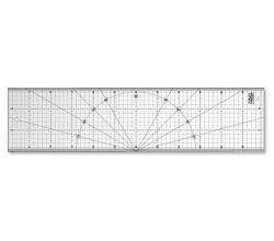 Rastrové pravítko OLFA MQR-15x60 - non slip