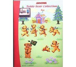 Sada výšiviek Janome Teddy Bear Collection