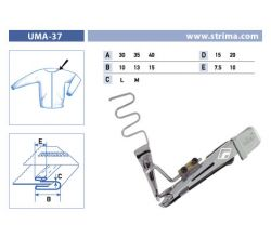 Zakladač pre šijacie stroje UMA-37 35/13x15/7,5 M