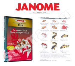 Kolekcia výšiviek Janome - Fish