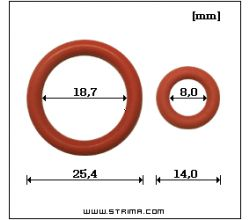 Těsnění bezpečnostního ventilu 20058-NA