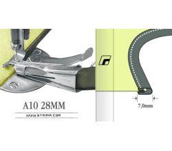 Zakladač pre šijacie stroje A10 28MM