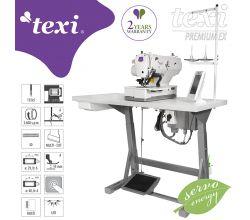 Dierkovací šijaci stroj TEXI O PREMIUM EX