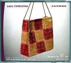 Sada výšiviek Janome Lace Collection