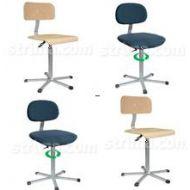 Pracovné stoličky - kovová stolička