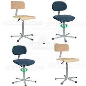 f54e85915294 Pracovné stoličky - kovová stolička