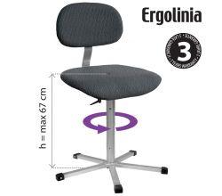 Pracovná stolička ERGOLINIA 10002