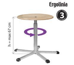 Pracovná stolička ERGOLINIA 10003