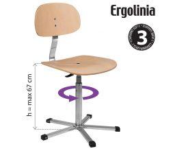 Pracovná stolička ERGOLINIA 10004