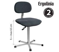 Priemyselná stolička ERGOLINIA EVO2
