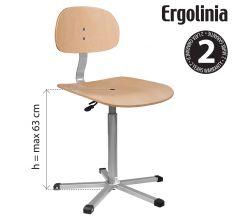 Priemyselná stolička ERGOLINIA EVO4